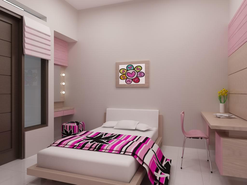 Pink Teenage room design | Architecture & Interior Design