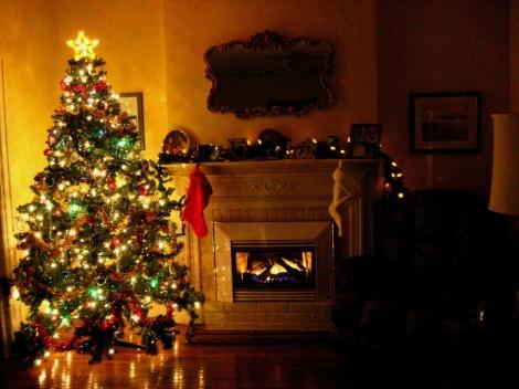 xmas warm tree